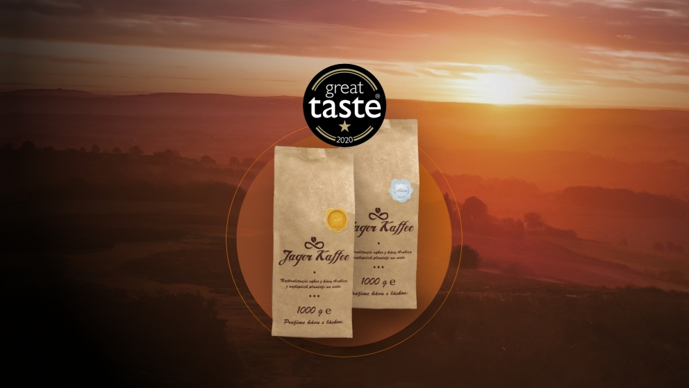 Great Taste: Naša káva je ocenená odborníkmi